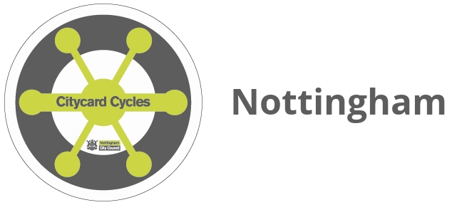 Nottingham Citycard Cycles